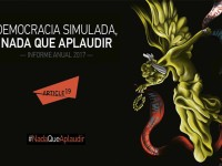 "Descarga ""Democracia simulada, nada que aplaudir"", informe sobre la libertad de prensa en México"
