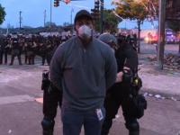 Equipo de CNN que fue arrestado mientras cubría las protestas de Minneapolis es liberado