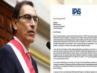 Carta enviada por el IPYS al presidente Martín Vizcarra con respecto a la Ley Mulder