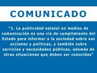 IPYS se pronuncia sobre el proyecto del congresista Mulder de erradicar la publicidad en medios privados