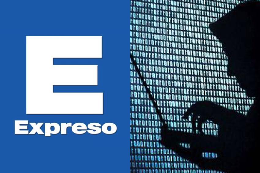 Perú: hackean página web de diario Expreso