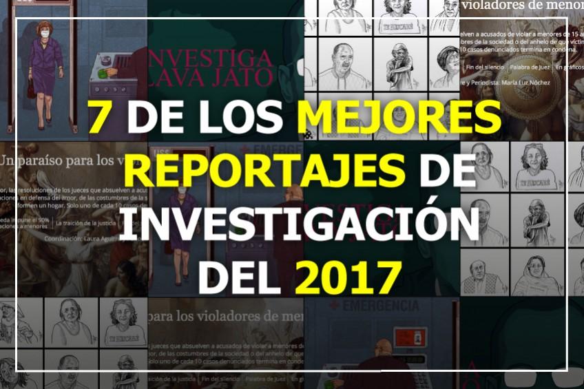 Siete de las mejores historias de investigación de América Latina