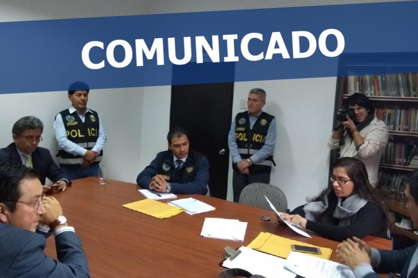 COMUNICADO: IPYS protesta por el atropello de una fiscalía contra IDL-Reporteros