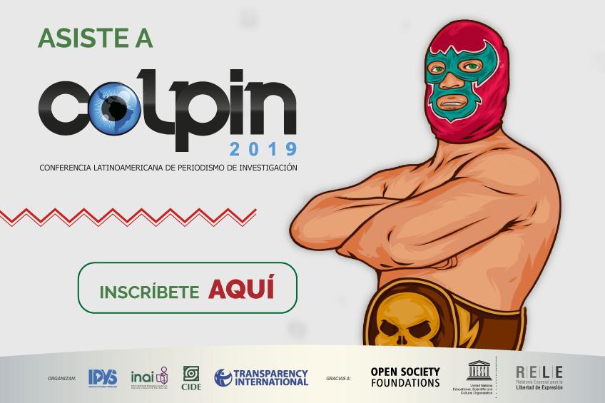 ¡Entradas disponibles! Ya puedes asegurar tu asistencia a COLPIN 2019
