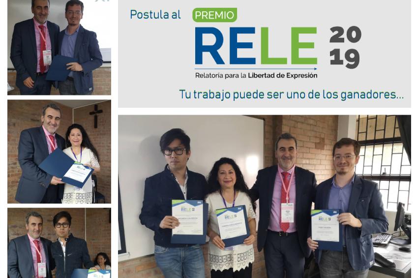 Estos fueron los ganadores del Premio RELE 2018 ¡Este año puedes ser tú!