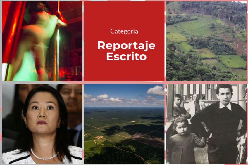 Estos son los finalistas de la categoría Reportaje Escrito de los Premios Nacionales