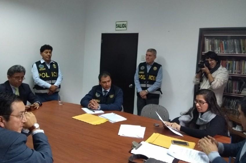 Fiscalía realiza diligencia en oficinas de IDL-Reporteros