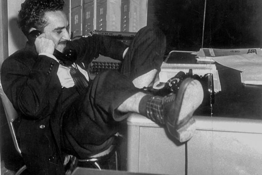 """Gabo, el periodista apasionado y sus vigentes lecciones al """"mejor oficio del mundo"""""""