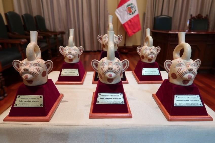 Premios Nacionales, una noche de reconocimiento al periodismo peruano [GALERÍA]