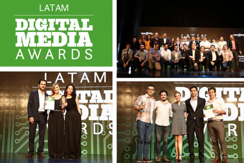 Ganador de Colpin 2017 entre finalistas de los Premios Digital Media LATAM 2018