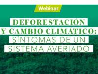 Participa en el Webinar sobre deforestación y cambio climático