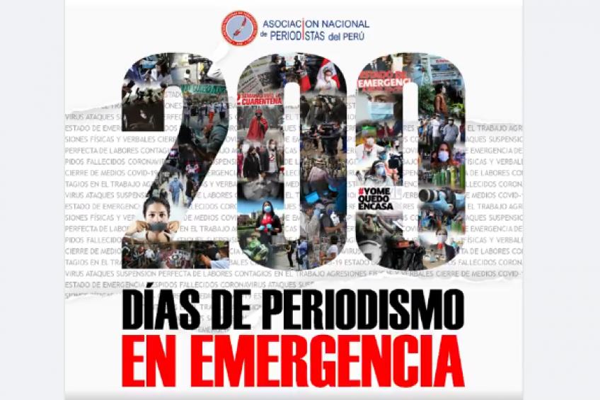 Día del Periodista Peruano: ANP informa sobre 163 muertes, 109 ataques y al menos medio millar sin empleo