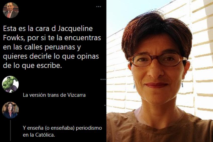 Perú: emprenden campaña en redes llamando a la violencia contra periodista