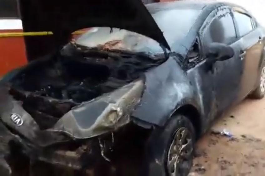 Perú: Incendian vehículo de periodista