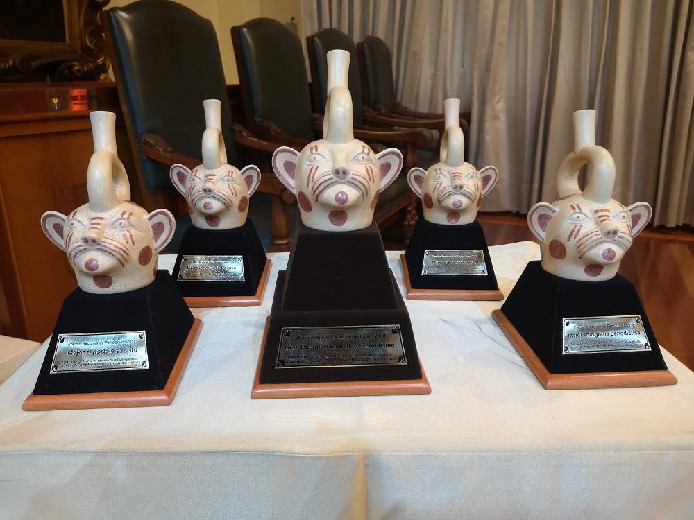 Los Premios Nacionales 2018 premiaron este año a cinco categorías además el Gran Premio Nacional