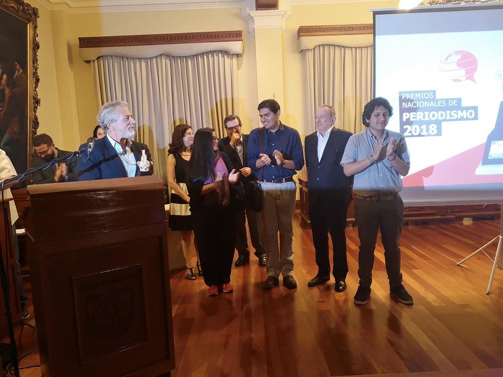 """""""Lava Juez"""" de IDL-Reporteros recibió el mayor galardón de la noche"""