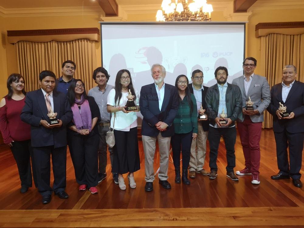 Ganadores de los Premios Nacionales de Periodismo 2018