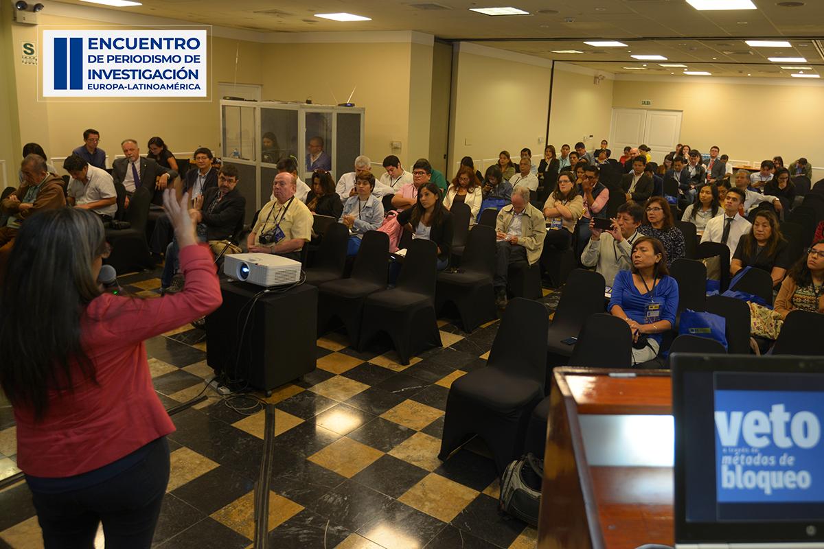 Segundo día del Encuentro Europa-Latinoamérica de Periodismo de Investigación