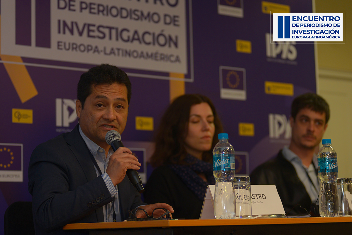 Mesa 4 del segundo día del Encuentro de Periodismo de Investigación Europa-Latinoamérica