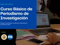 EL IPYS lanza Curso Básico de Periodismo de Investigación para estudiantes latinoamericanos de los últimos ciclos