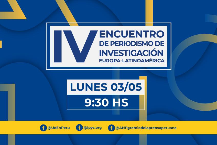 IV Encuentro Europa América Latina de periodismo