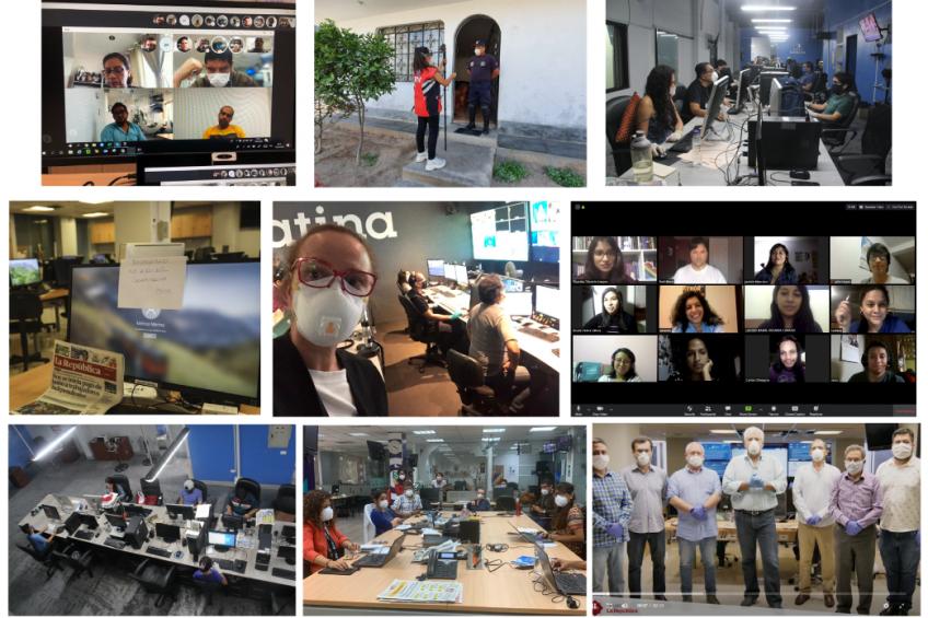Periodismo peruano: adaptarse en tiempos de COVID-19